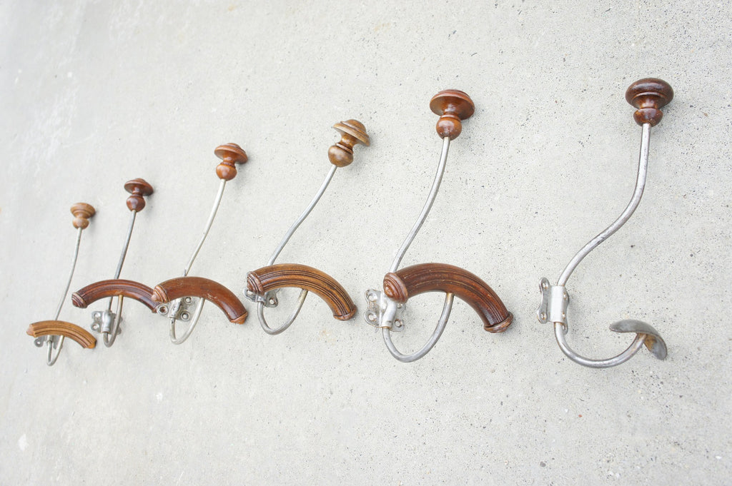 Selection of Individual Coat Hooks