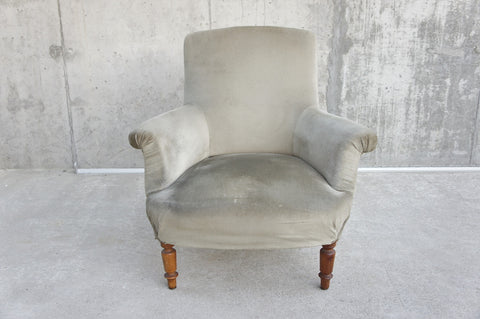 Single French Armchair to Reupholster