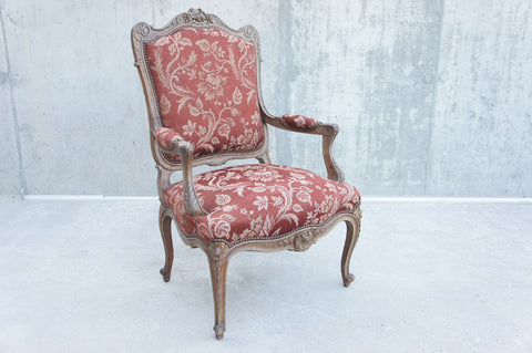 1930's Carved Decorative Armchair Carver Throne