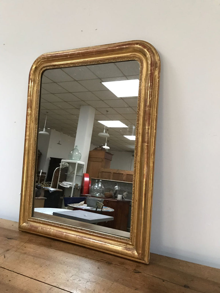 Gold Leaf Louis Phillippe Mirror B