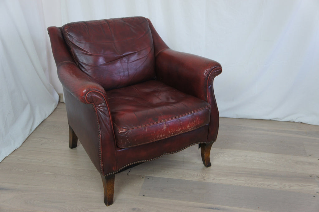 Leather Club Chair 1970's