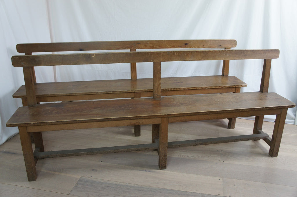 Pair of Church Benches