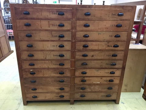 Rustic Plan Chest