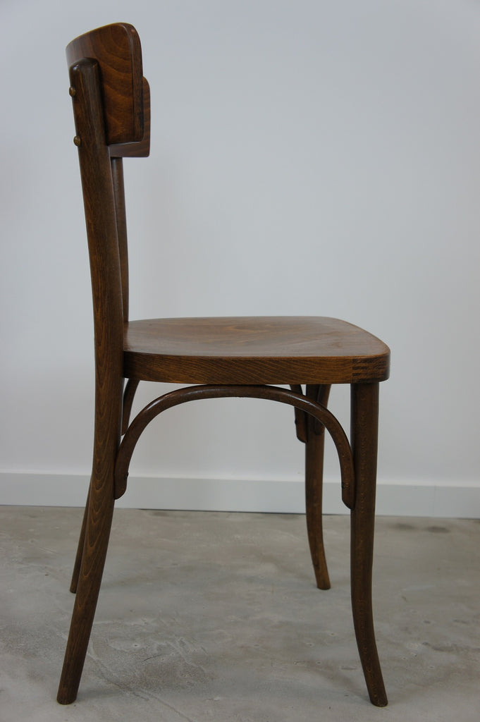 set of 8 thonet bentwood bistro chairs vintage french