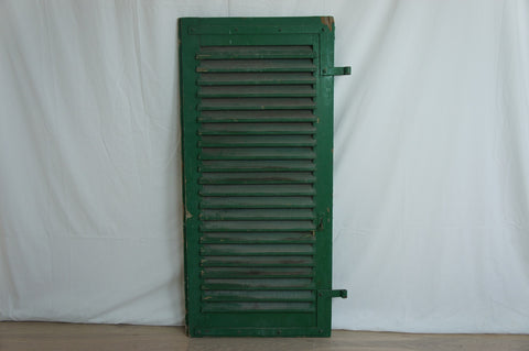 Green French Shutters