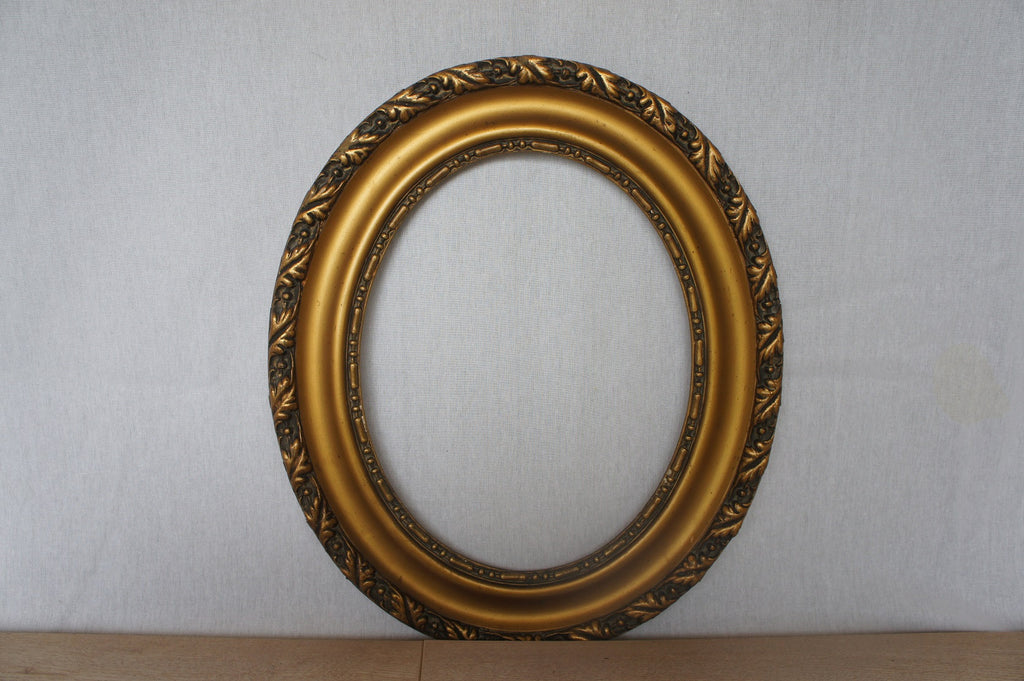Oval Picture Frame 1930's