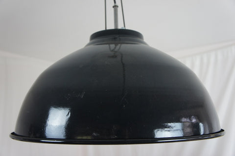 Large Enamel Light