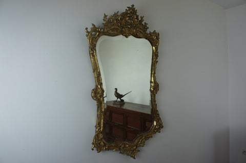 Louis XV Gold Mirror