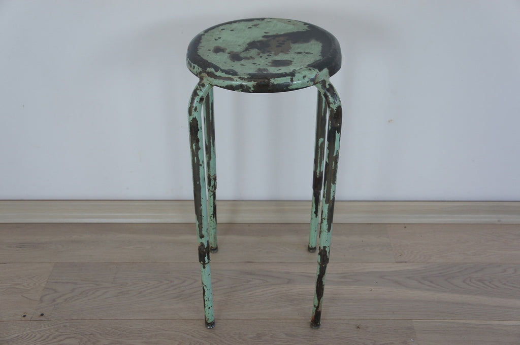 Metal Industrial Stool