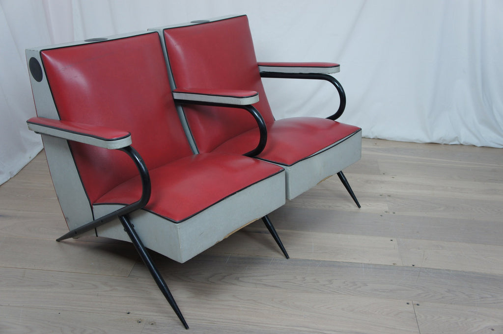 Mid Century Hairdresser's Chairs