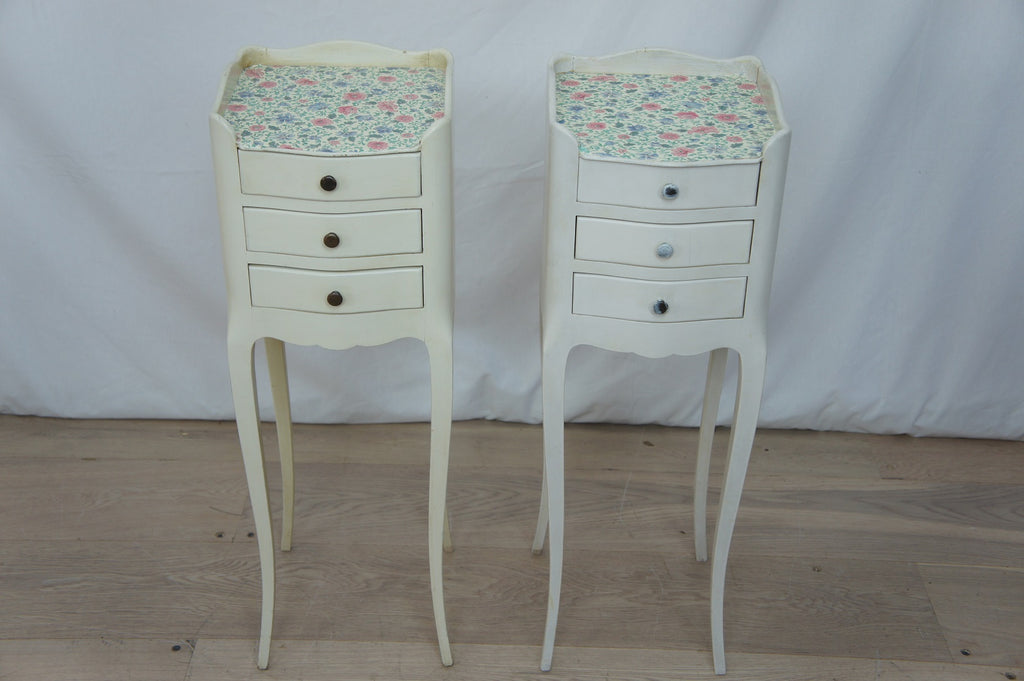 Pair Bedside Drawers