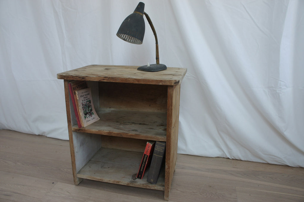 Rustic Bedside Table Unit