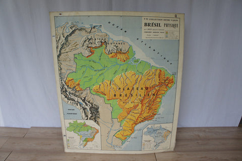 School Map of Brasil