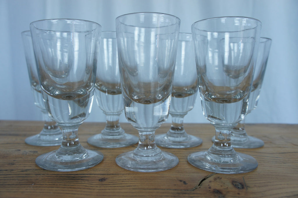Set of 7 Absinthe Glasses