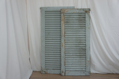Duck Egg Blue French Shutter