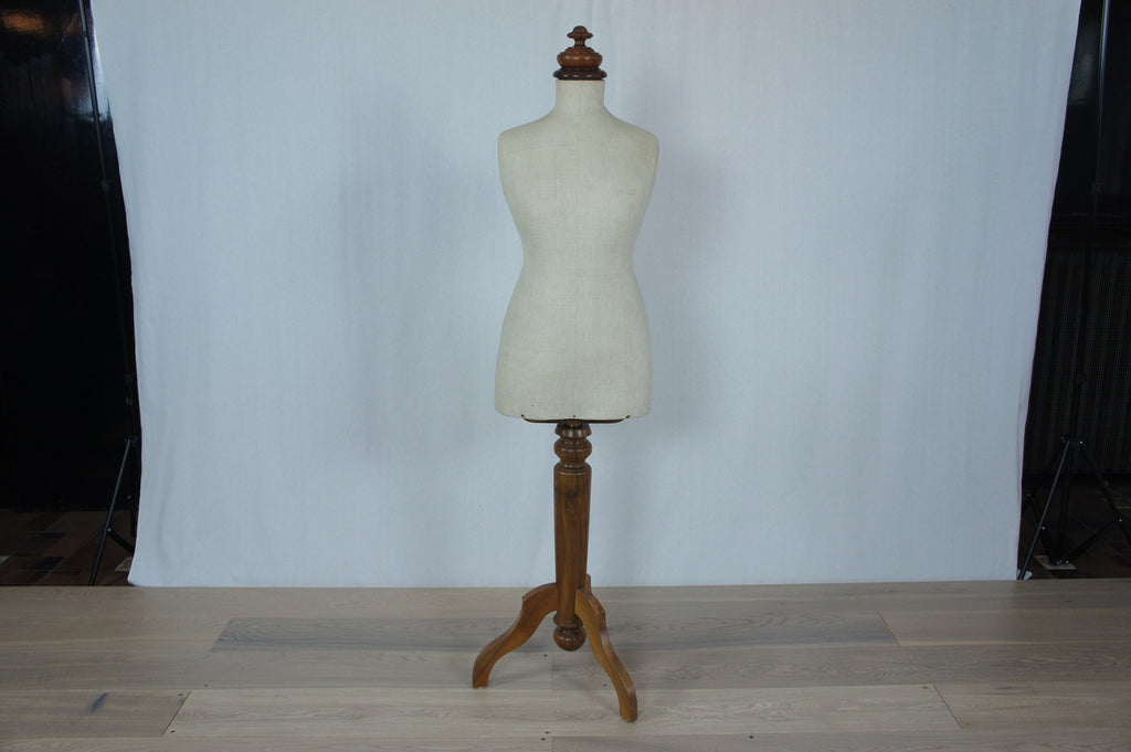 Mannequin With Walnut Wood Base