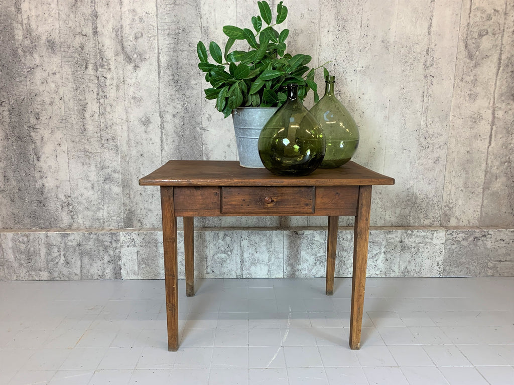 100cm Pine Tapered Leg Table Desk