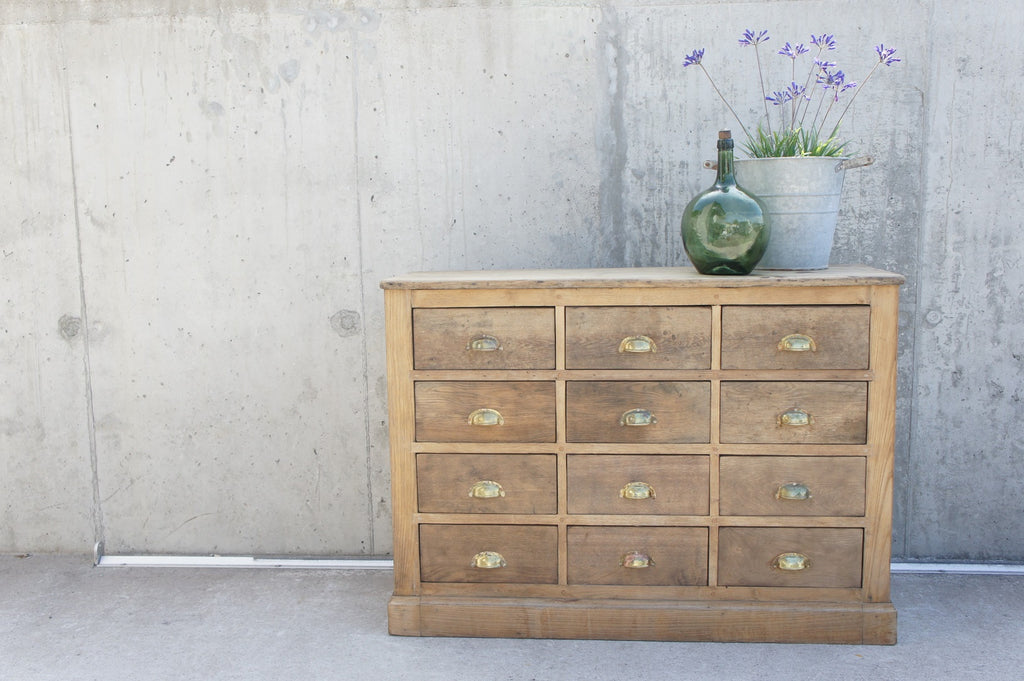 Hardware Store Sideboard Drawers with Cup Handles