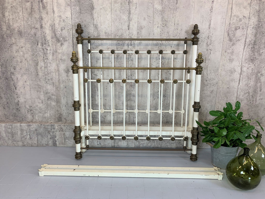 French Brass and Metal 139.5cm wide Bed Frame