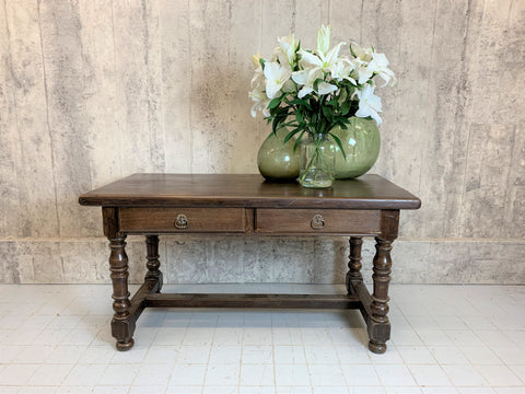 150cm French Oak Dining Table Console Table Desk