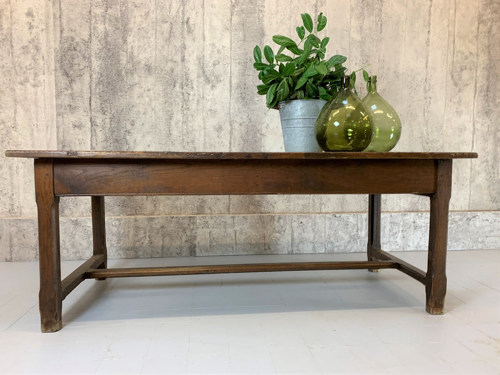 195cm Rustic Solid Oak Farmhouse Table