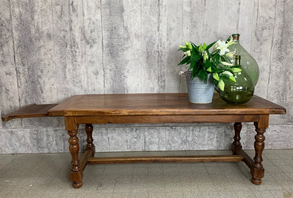 200cm Oak Farmhouse Table with 45cm Extension