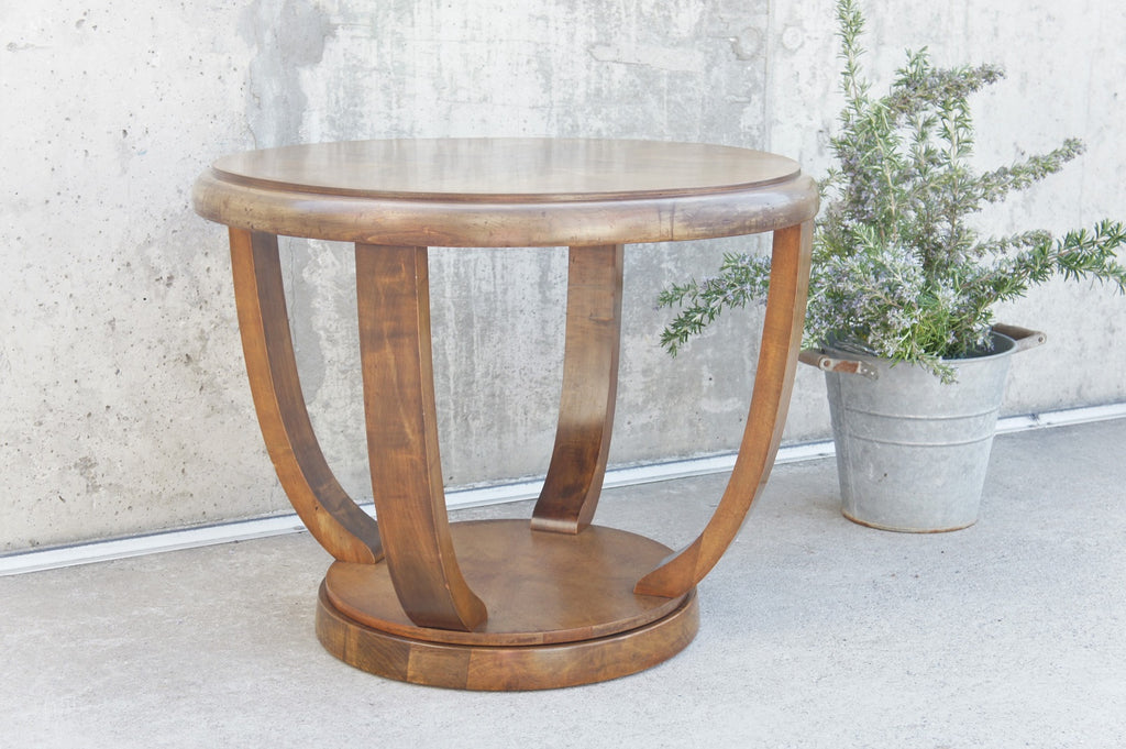 Art Deco Gueridon Side Table