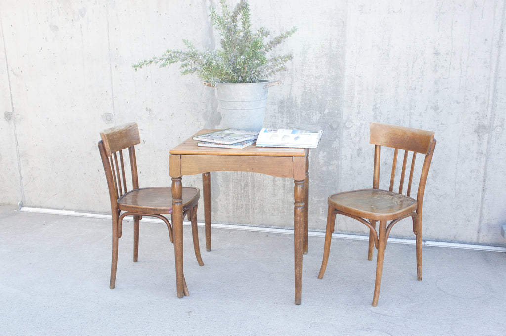 Bistro Table with 2 Bistro Chairs