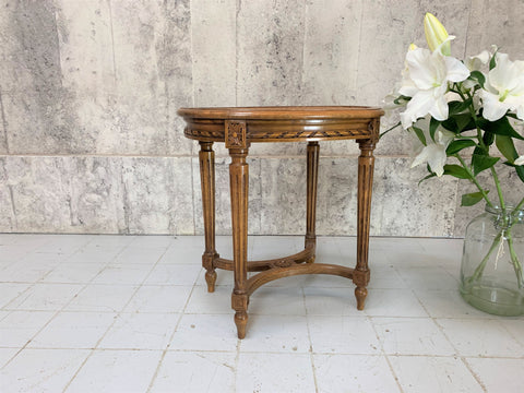 Carved, Louis XVI Style Cane, Piano, Dressing Table Stool