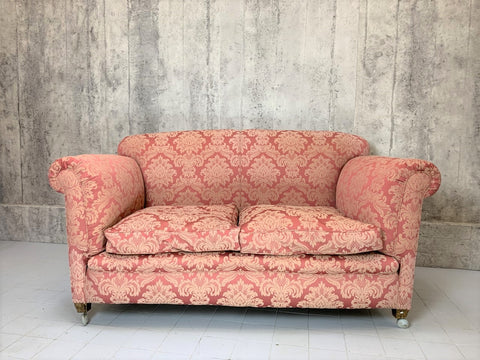 1900's English Two Seat Sofa