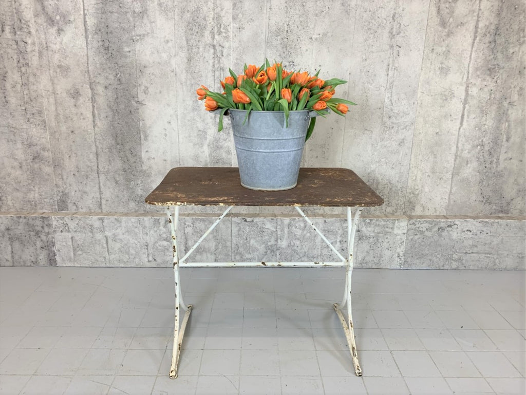 Metal Garden Console Table