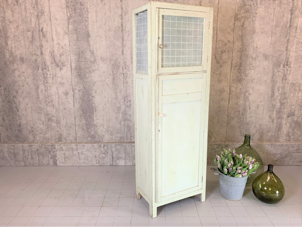 French Painted Larder Cupboard