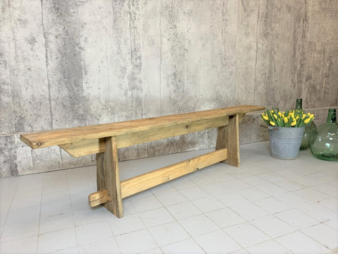 179cm Individual Pine Wooden Bench