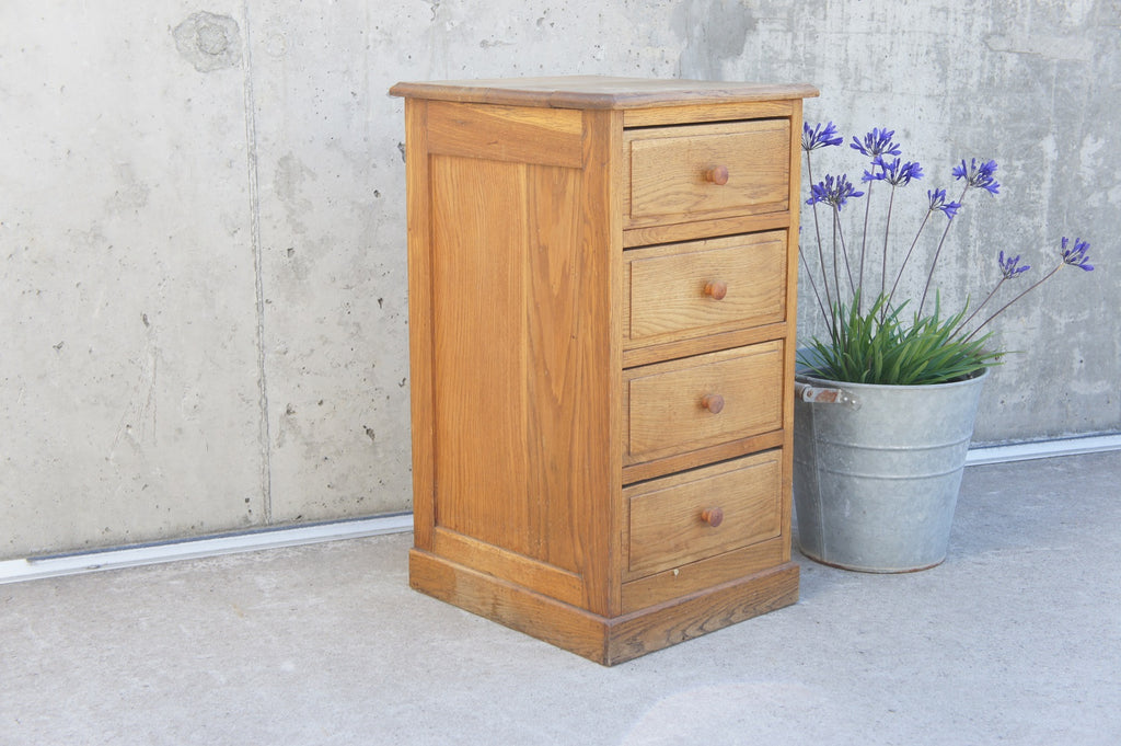 Solid Wood Bedside Table Drawers