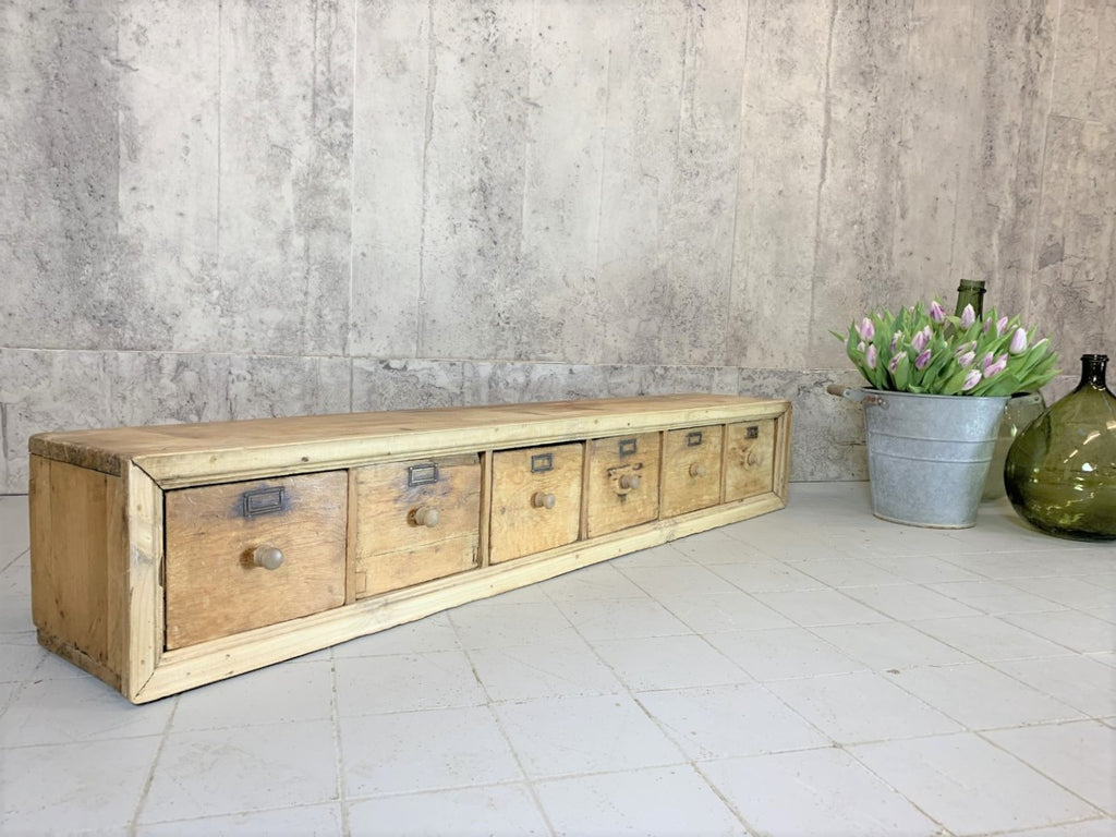 Rustic, Landscape Set of Rustic Industrial Drawers