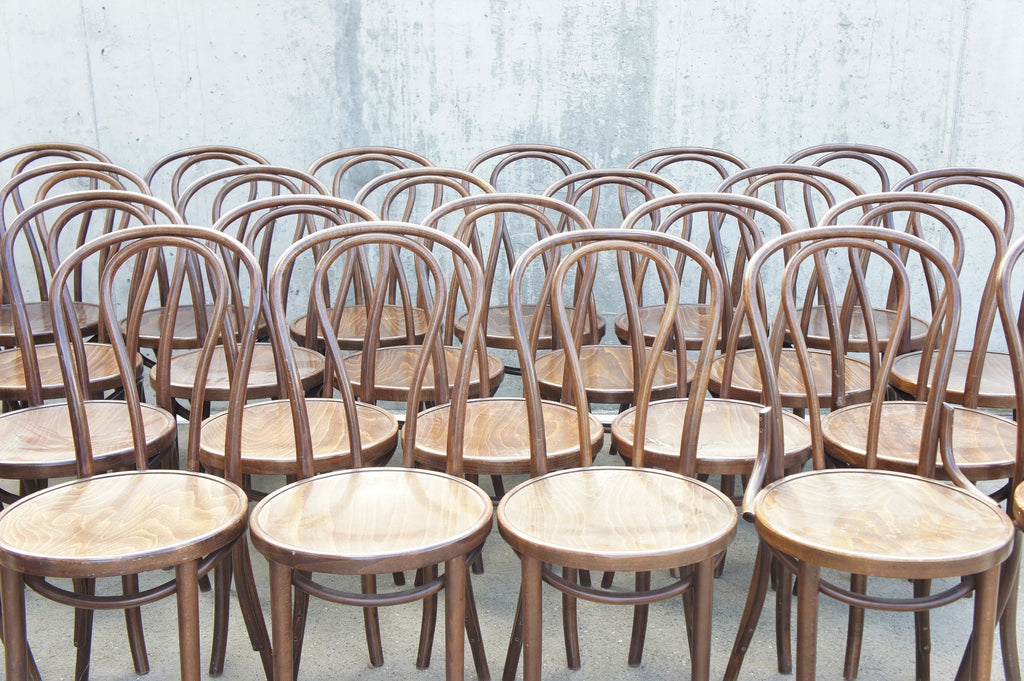 Set of 29 Thonet No. 14 Style Bistro Chairs