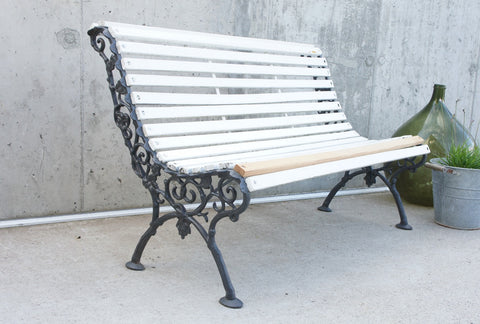 Decorative French Garden Bench