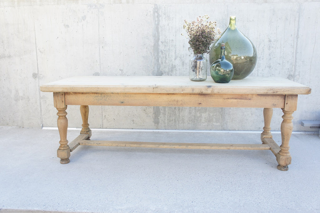 240.5cm Oak Farmhouse Refectory Dining Table (to seat approx 10 people)