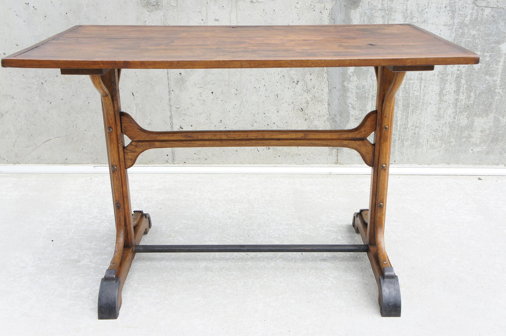 Industrial Style Wooden Table / Desk