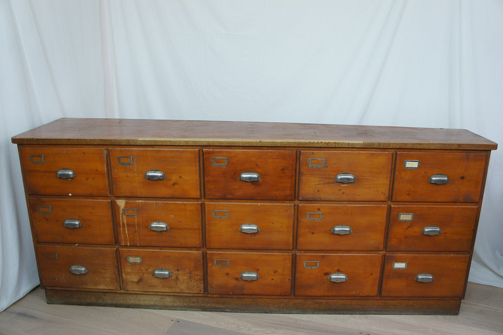 Haberdashery Shop Drawer Unit