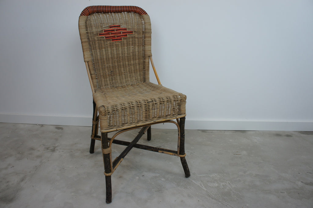 Children's Playroom Bedroom Rattan Chair