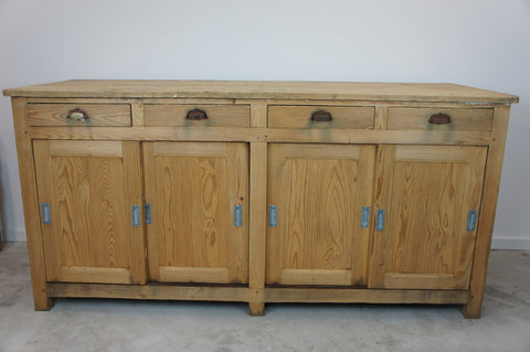 Rustic Shop Counter Sideboard