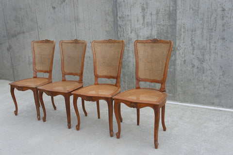 Cane Dining Chairs (set of 4)