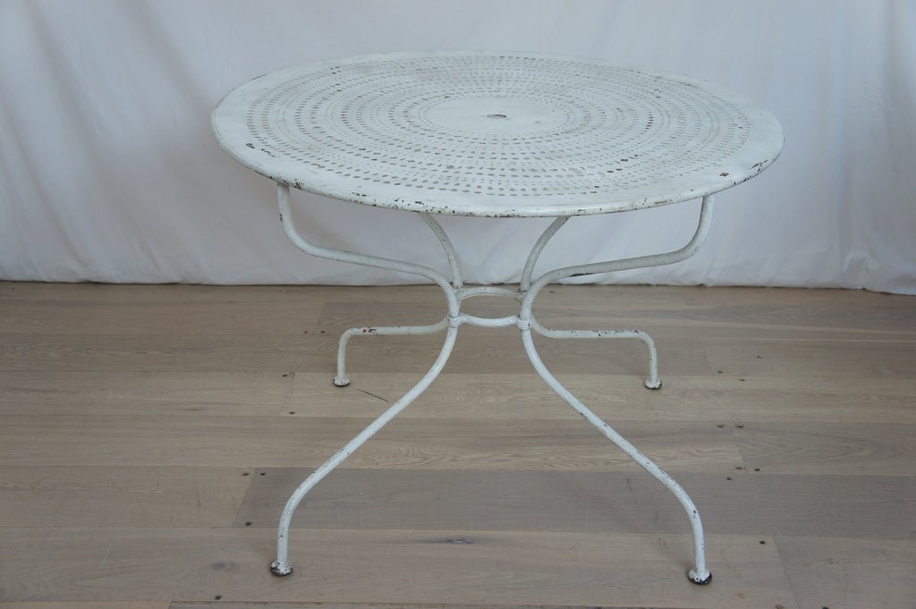 Wrought Iron Garden Circular Table