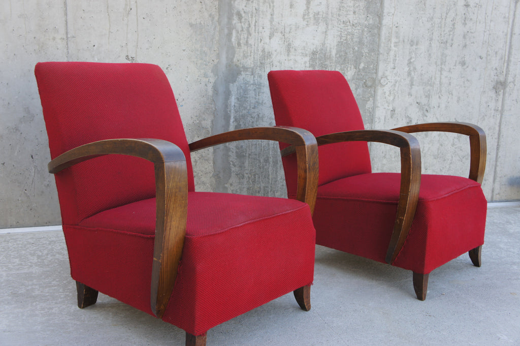 Art Deco Lounge Chairs to reupholster
