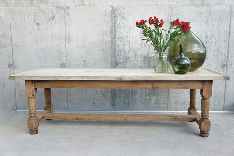 2.49m Oak Farmhouse Refectory Dining Table