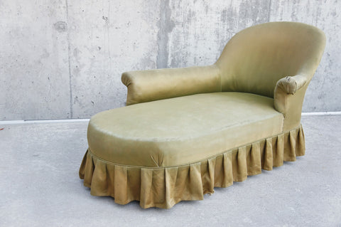 French Chaise Longue to Reupholster