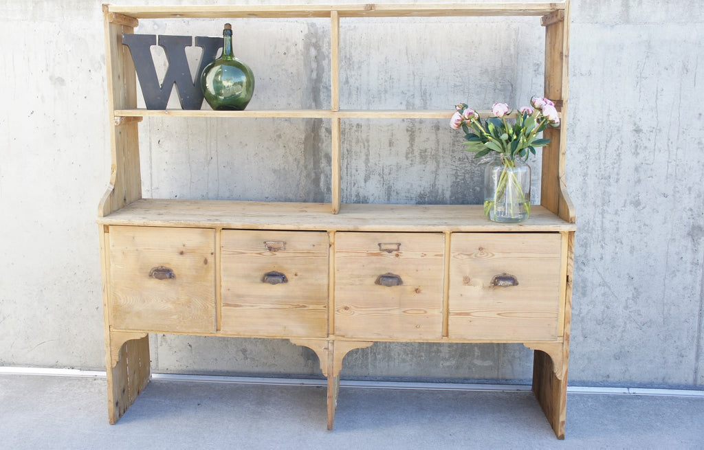 Spice Merchant's Shop Counter Sideboard Dresser Drawers