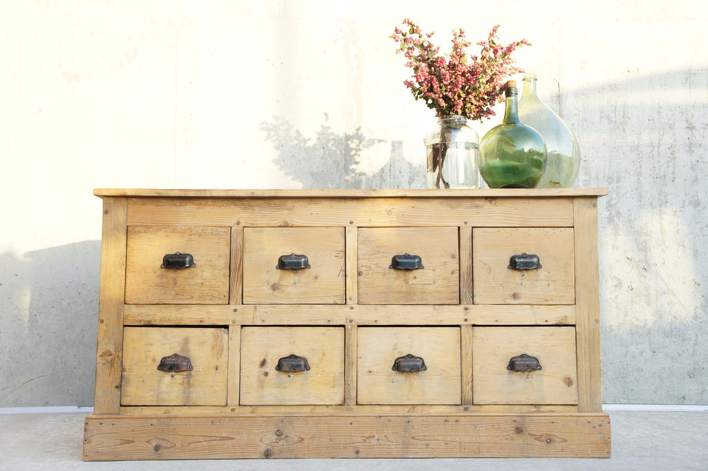 Hardware Store Sideboard (8) Drawer Unit
