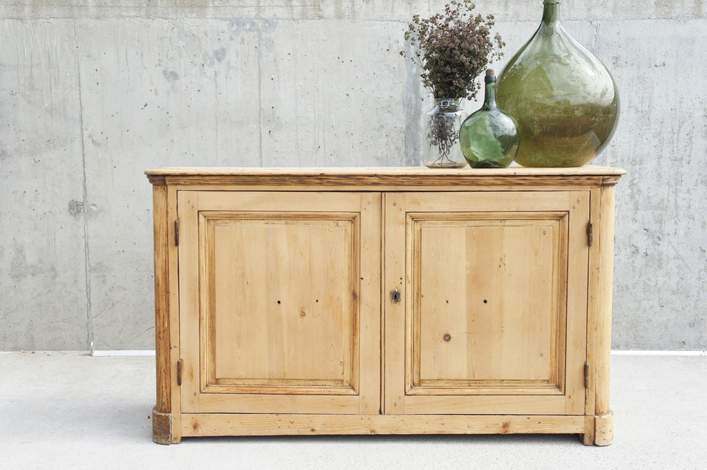 Louis Philippe Pine Sideboard Cupboard